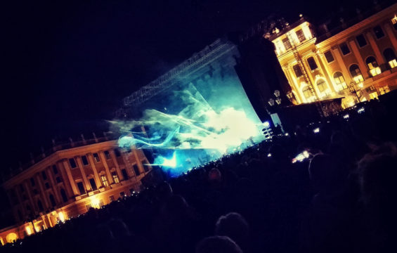 David Gilmour concert