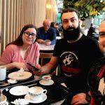 Iulia, Anca, Cătălin, Cezar - Oslo airport