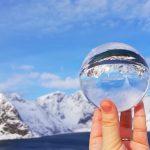 Glass lens ball