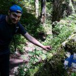 Cezar, trail marker