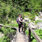 Anca, wooden bridge
