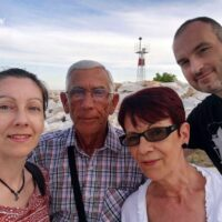 Me, Nelu, Vasi, and Cezar