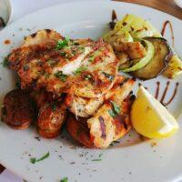 Delicious food at Elia tavern