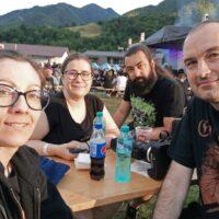 Me, Anca, Cătălin, and Cezar